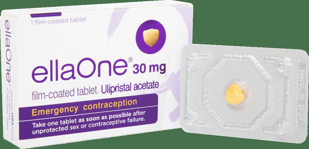 ellaOne Emergency Contraception pill