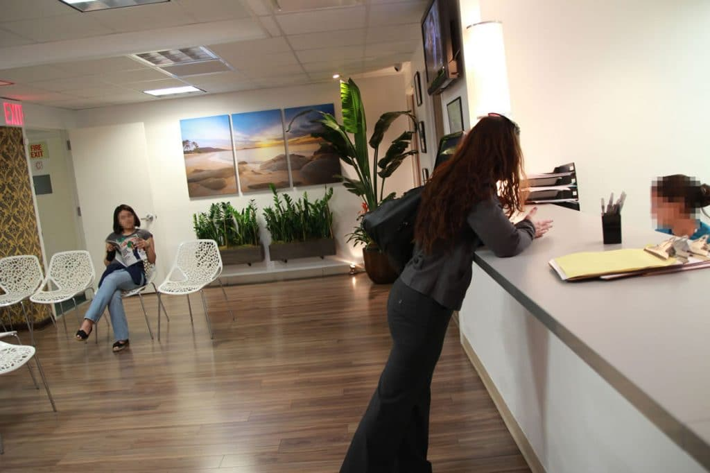 Parkmed Clinic Reception Desk NYC